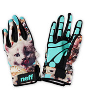 Neff Chameleon Kitten Pipe Snowboard Gloves