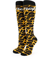 Neff Cheetah Snowboard Socks