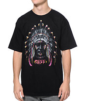 Neff Chiefn Black Tee Shirt
