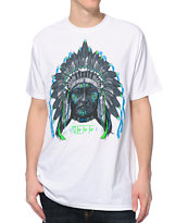 Neff Chiefn White Tee Shirt