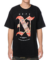 Neff Clean Carpet Black Tee Shirt