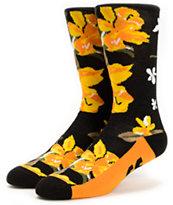 Neff Commando Black Crew Socks