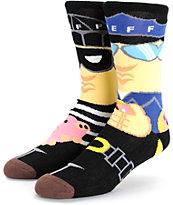 Neff Cop N' Robber Crew Socks