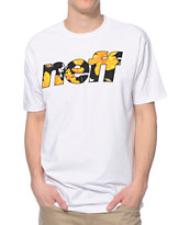 Neff Corpi Filled White Tee Shirt