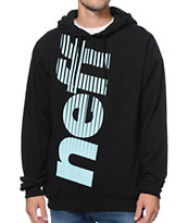 Neff Corporate Black Pullover Hoodie