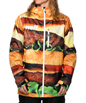 Neff Daily 2 Cheeseburger 10K Snowboard Jacket