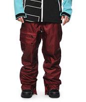 Neff Daily 2 Maroon 10K Snowboard Pants