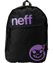 Neff Daily Black & Purple Backpack