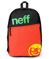 Neff Daily Black & Rasta Backpack