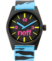 Neff Daily Blue Tiger Analog Watch