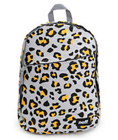 Neff Daily Leopard Print Grey Backpack