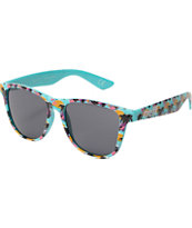Neff Daily Palm Print Sunglasses