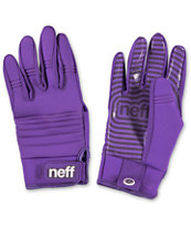 Neff Daily Purple Pipe Snowboard Gloves