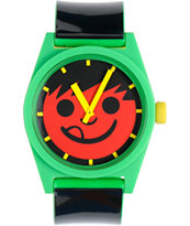 Neff Daily Rasta Stripe Analog Watch
