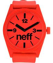 Neff Daily Red Analog Watch