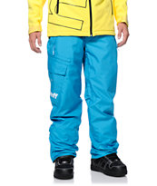 Neff Daily Riding Blue 10K 2014 Snowboard Pants