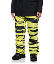 Neff Daily Riding Yellow 10K Snowboard Pants