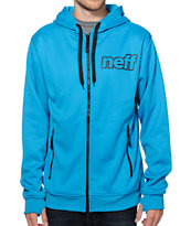 Neff Daily Shredder Blue Tech Fleece Jacket