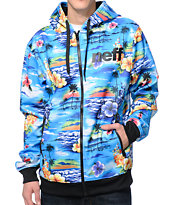 Neff Daily Shredder Hurler Tech Fleece Jacket
