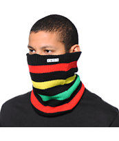 Neff Daily Stripe Rasta Neck Gaiter