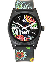 Neff Daily Wild Astro Floral Analog Watch