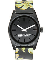 Neff Daily Wild Filthy Floral Analog Watch