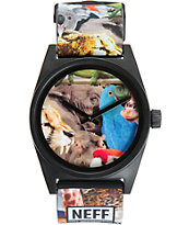 Neff Daily Wild Wildlife Analog Watch