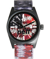 Neff Daily Woven New America Analog Watch