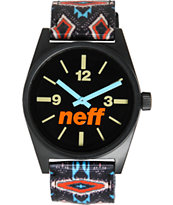 Neff Daily Woven Tribal Beach Analog Watch