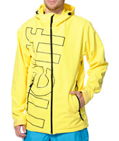 Neff Daily Yellow 10K 2014 Softshell Snowboard Jacket