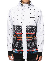 Neff Death Isle Shredder Tech Fleece Jacket