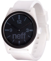 Neff Deuce White & Black Analog Watch