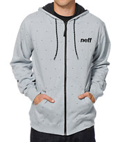 Neff Dotted Zip Up Hoodie