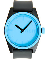 Neff Duece Cyan Blue Analog Watch