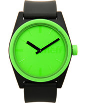 Neff Duece Slime Green Analog Watch