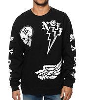 Neff Electron Crew Neck Sweatshirt