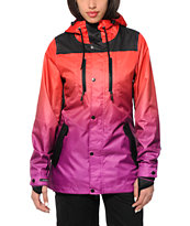 Neff Falcon Red & Purple 10K Snowboard Jacket