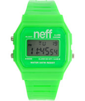 Neff Flava Green Digital Watch