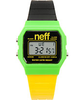 Neff Flava Lemon Lime Digital Watch
