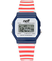 Neff Flava Stripe Digital Watch