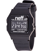 Neff Flava XL Black Digital Watch