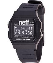 Neff Flava XL Black Digital Watch