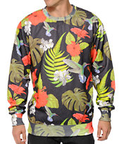 Neff Floral Day Crew Neck Sweatshirt