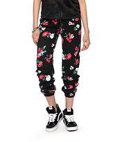 Neff Floral Print Jogger Pants
