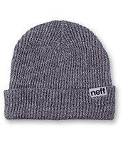 Neff Fold Grey Beanie