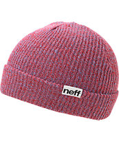 Neff Fold Red & Blue Beanie
