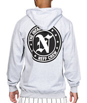 Neff Infamous Grey Zip Up Hoodie