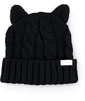 Neff Kat Ears Black Beanie
