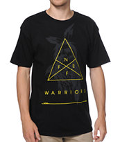 Neff Noble Warrior Black Tee Shirt