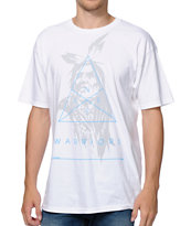 Neff Noble Warrior White Tee Shirt